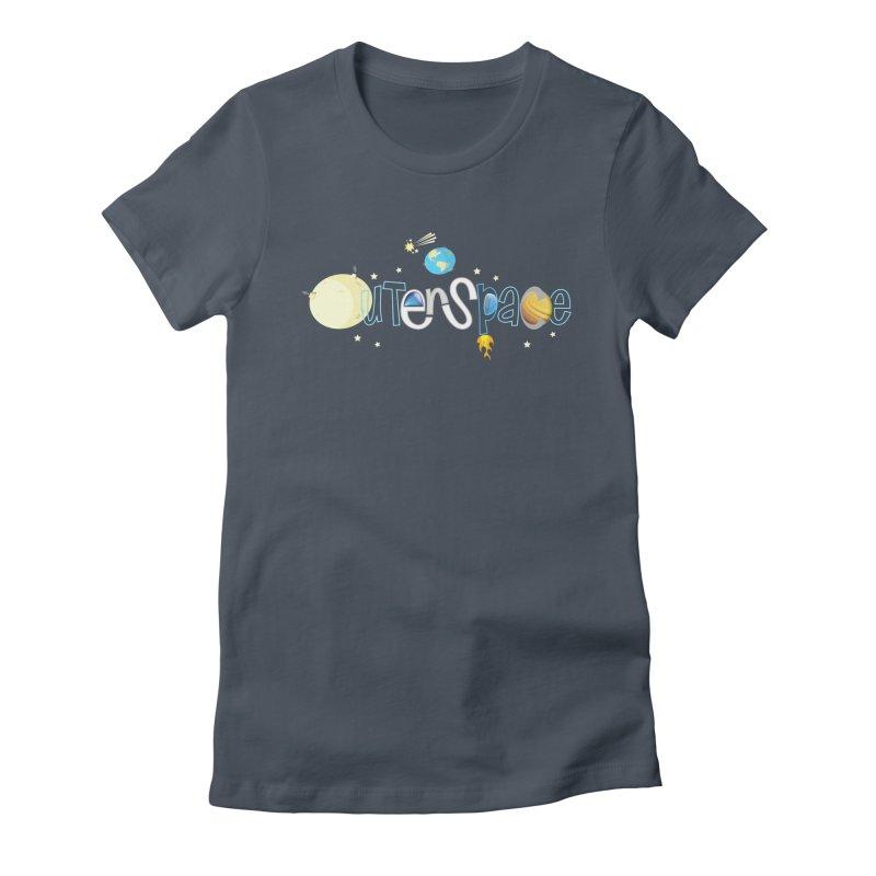OuterSpace Women's T-Shirt by PickaCS's Artist Shop