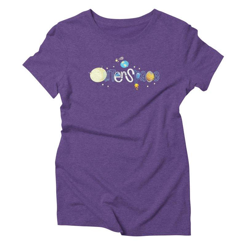 OuterSpace Women's Triblend T-Shirt by PickaCS's Artist Shop