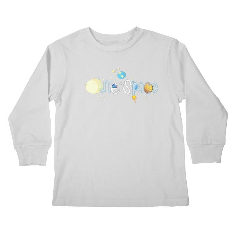 OuterSpace Kids Longsleeve T-Shirt by PickaCS's Artist Shop