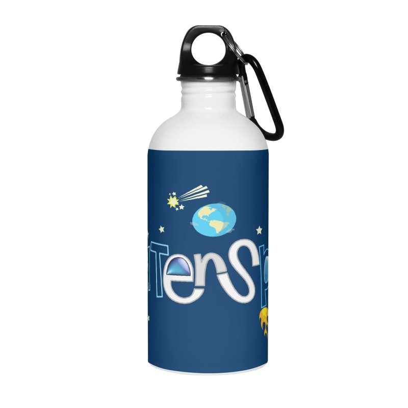 OuterSpace Accessories Water Bottle by PickaCS's Artist Shop