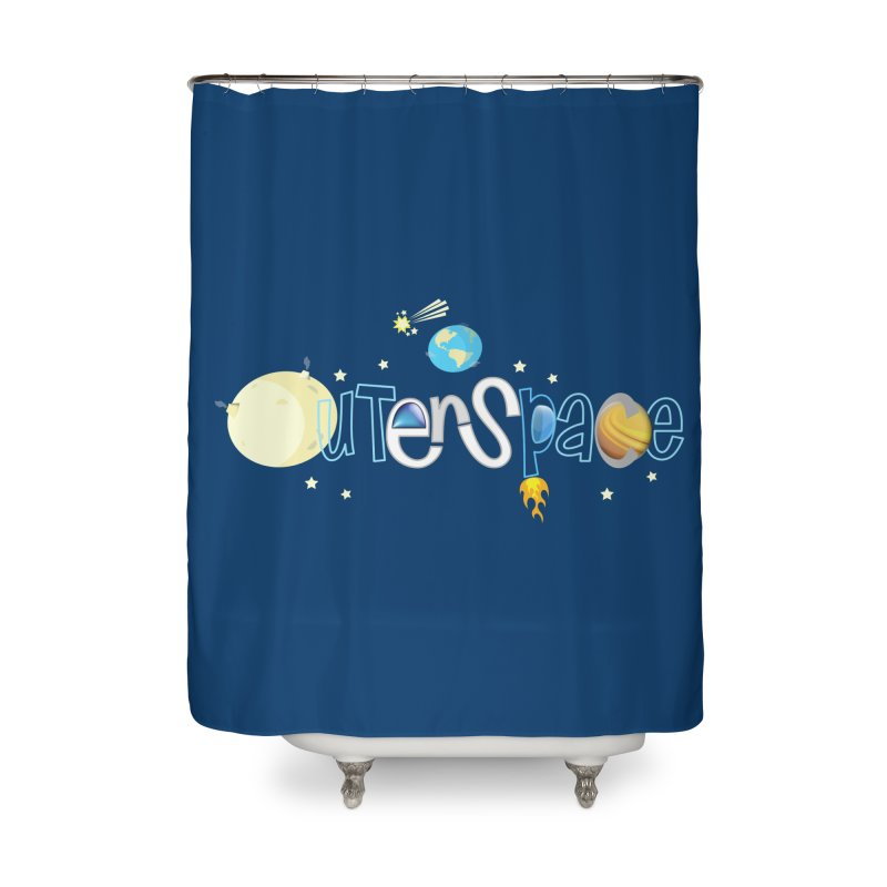 OuterSpace Home Shower Curtain by PickaCS's Artist Shop