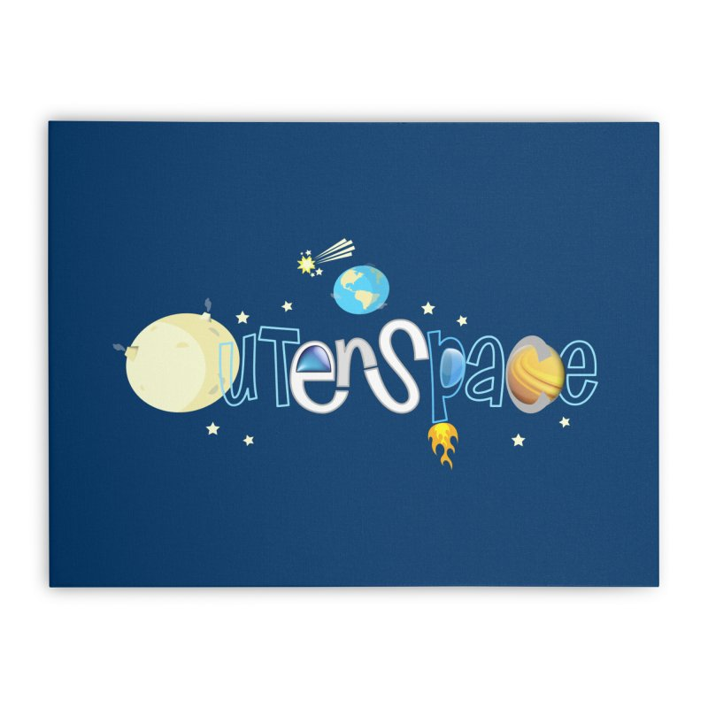 OuterSpace Home Stretched Canvas by PickaCS's Artist Shop