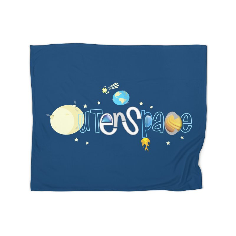 OuterSpace Home Blanket by PickaCS's Artist Shop