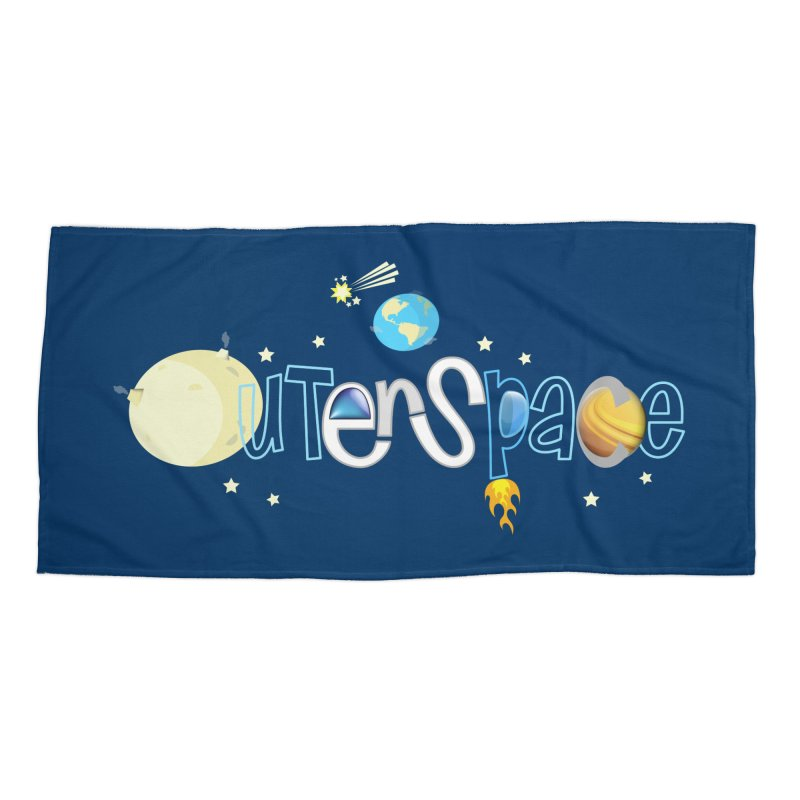 OuterSpace Accessories Beach Towel by PickaCS's Artist Shop