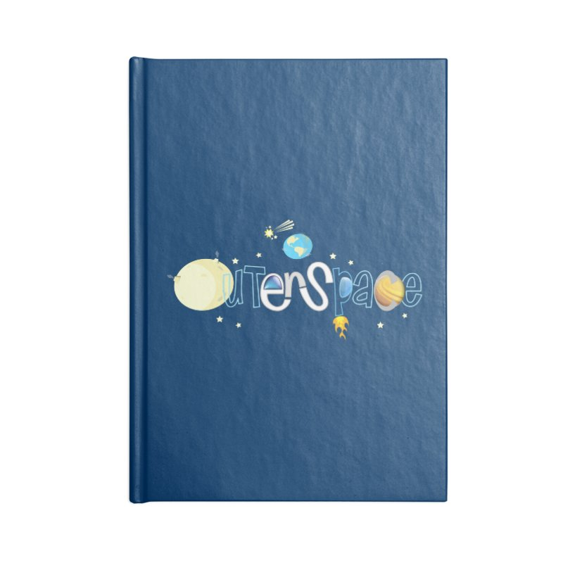 OuterSpace Accessories Notebook by PickaCS's Artist Shop