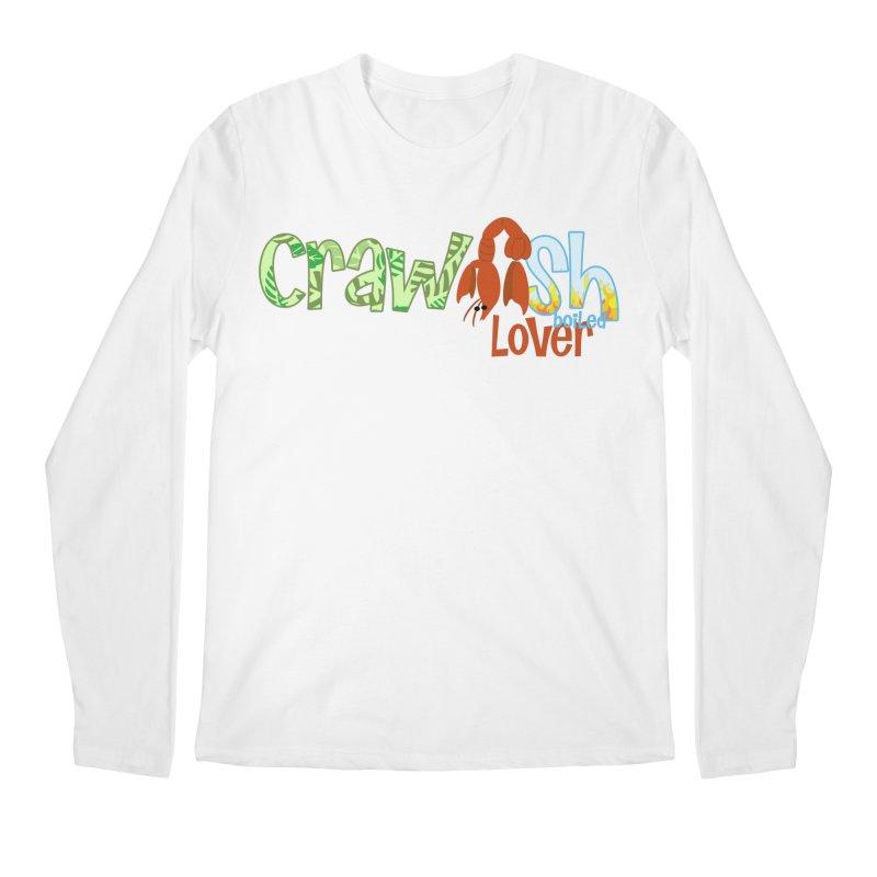 Crawfish Boiled Lover Men's Longsleeve T-Shirt by PickaCS's Artist Shop