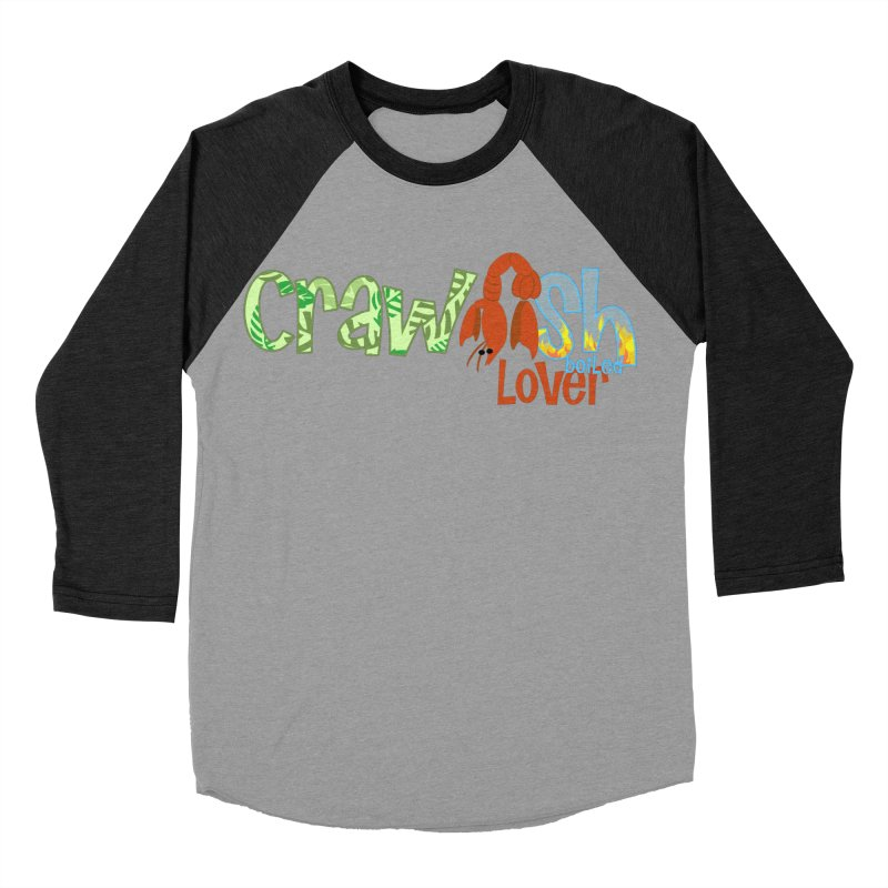 Crawfish Boiled Lover Women's Baseball Triblend T-Shirt by PickaCS's Artist Shop