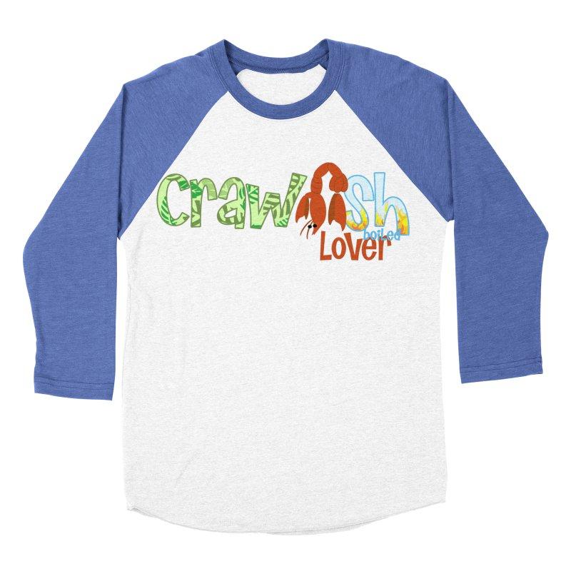Crawfish Boiled Lover Men's Baseball Triblend T-Shirt by PickaCS's Artist Shop