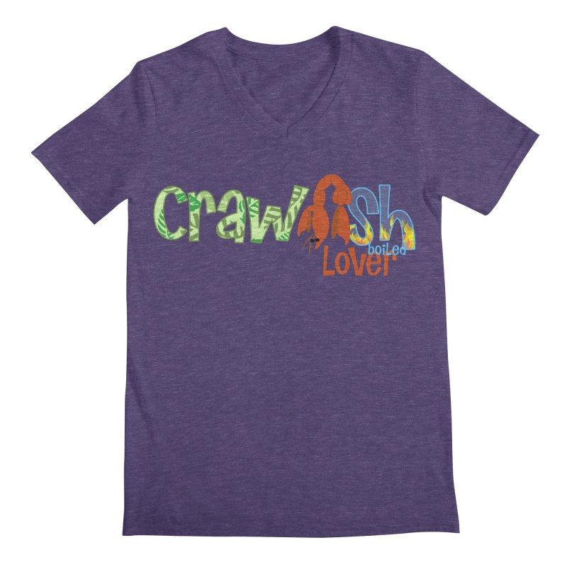 Crawfish Boiled Lover Men's V-Neck by PickaCS's Artist Shop