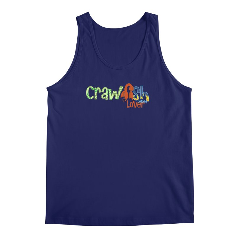 Crawfish Boiled Lover Men's Tank by PickaCS's Artist Shop