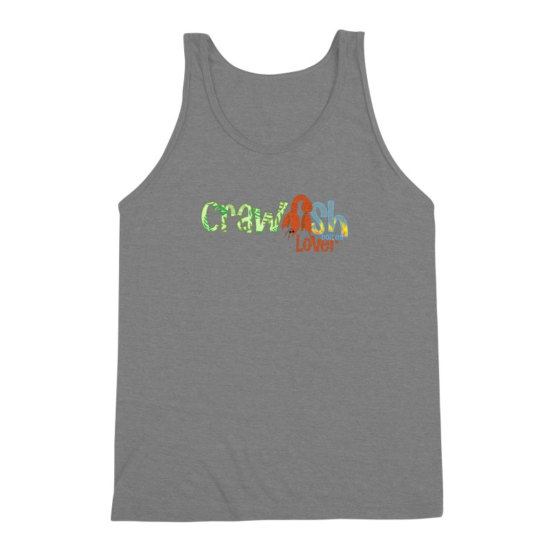 Crawfish Boiled Lover Men's Triblend Tank by PickaCS's Artist Shop