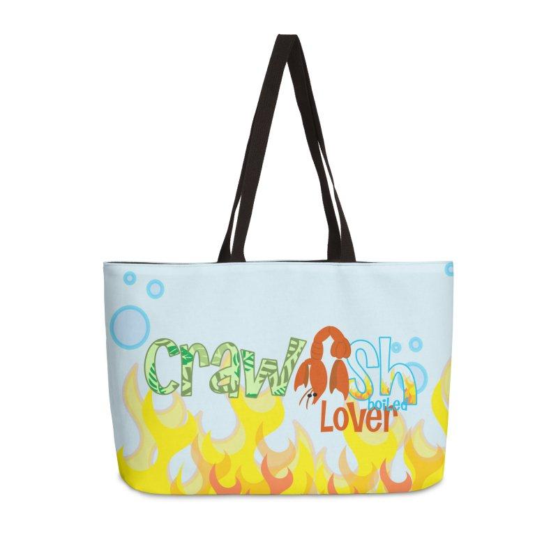 Crawfish Boiled Lover in Weekender Bag by PickaCS's Artist Shop