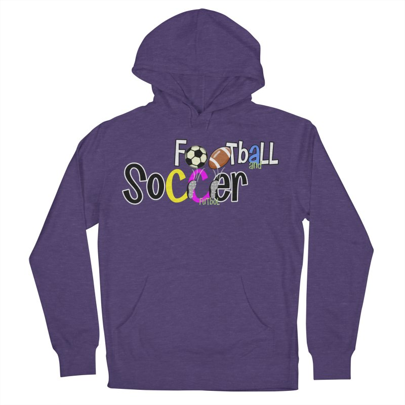 FootBall & SOCCER Men's Pullover Hoody by PickaCS's Artist Shop