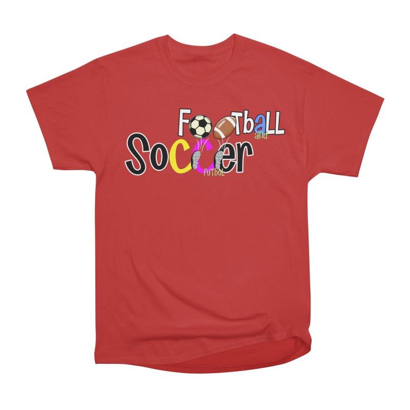 FootBall & SOCCER Men's Classic T-Shirt by PickaCS's Artist Shop
