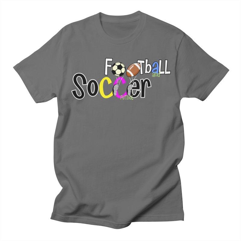 FootBall & SOCCER Men's T-Shirt by PickaCS's Artist Shop
