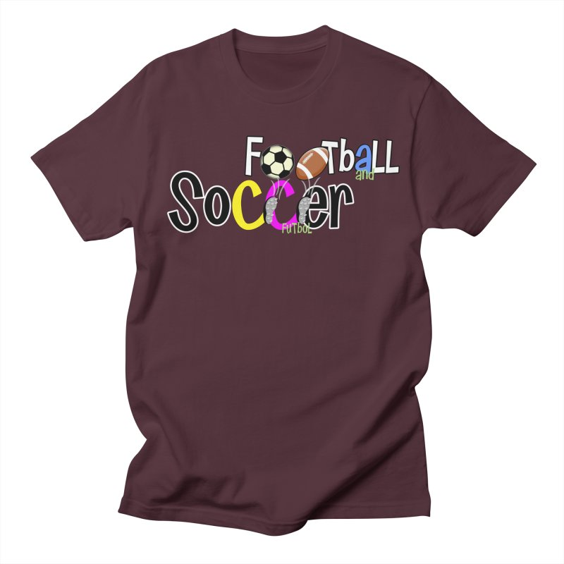 FootBall & SOCCER Women's Unisex T-Shirt by PickaCS's Artist Shop