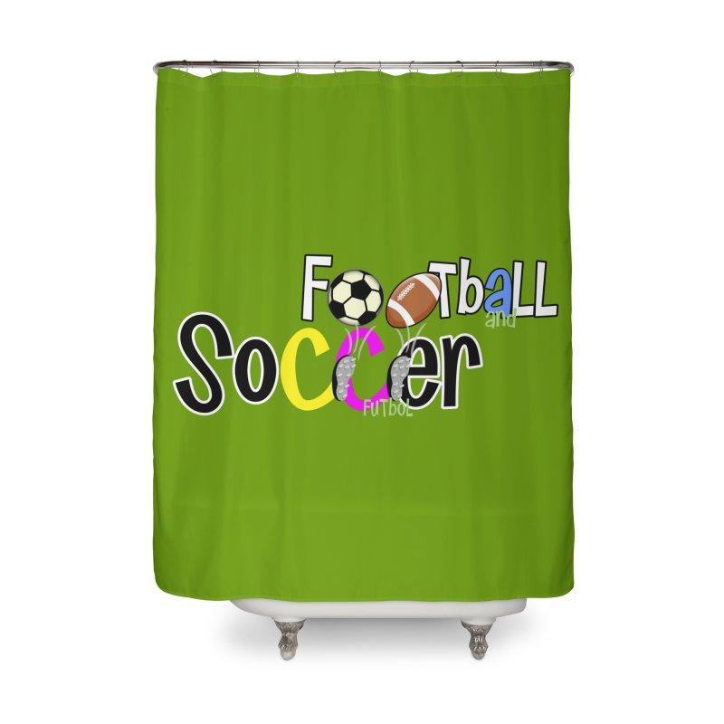 FootBall & SOCCER Home Shower Curtain by PickaCS's Artist Shop