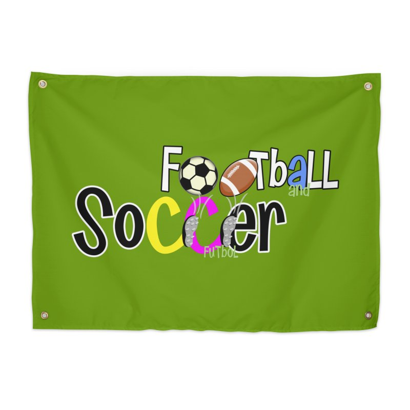 FootBall & SOCCER Home Tapestry by PickaCS's Artist Shop