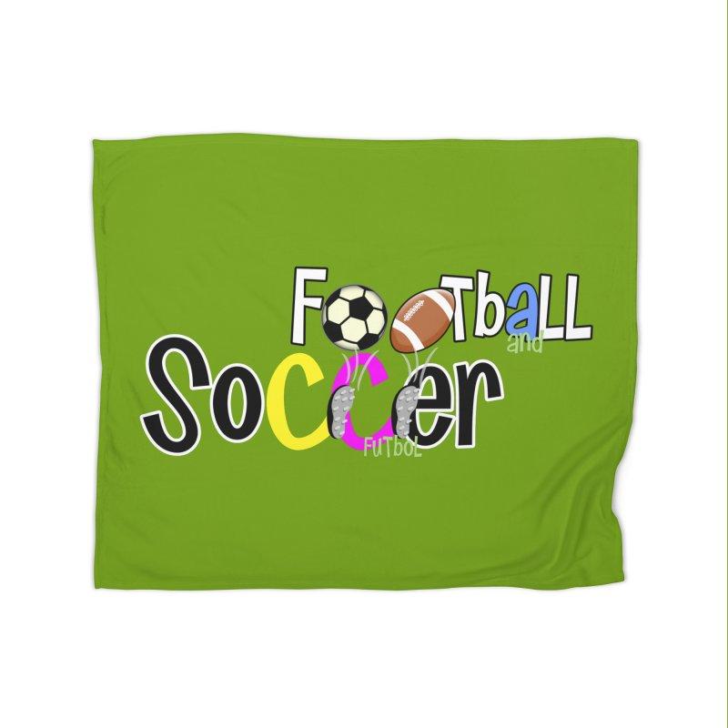 FootBall & SOCCER Home Blanket by PickaCS's Artist Shop