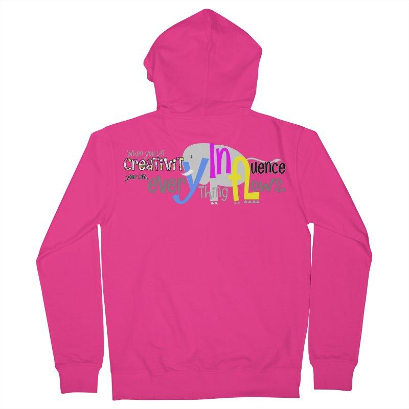 Creativity Men's Zip-Up Hoody by PickaCS's Artist Shop