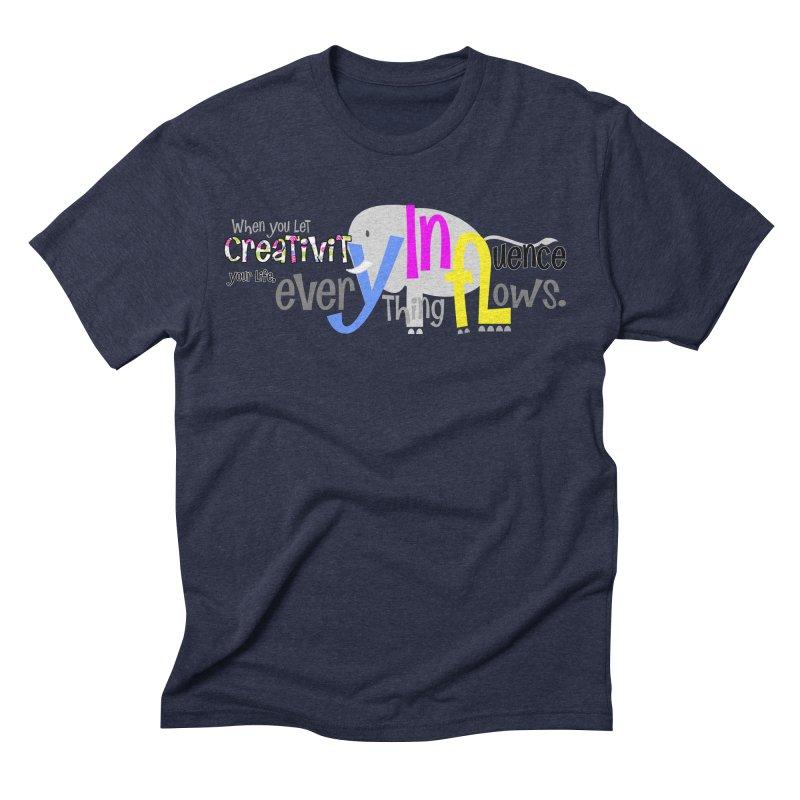 Creativity Men's Triblend T-Shirt by PickaCS's Artist Shop