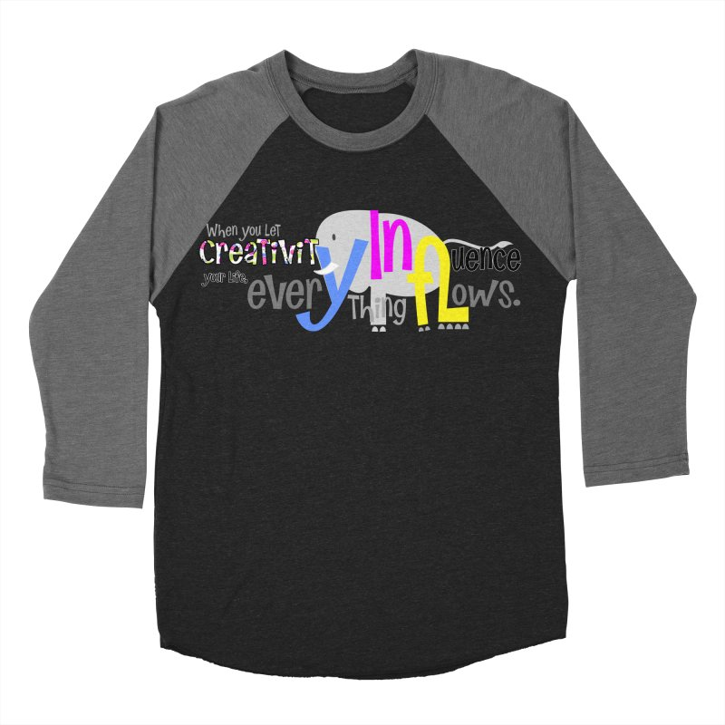Creativity Women's Baseball Triblend T-Shirt by PickaCS's Artist Shop