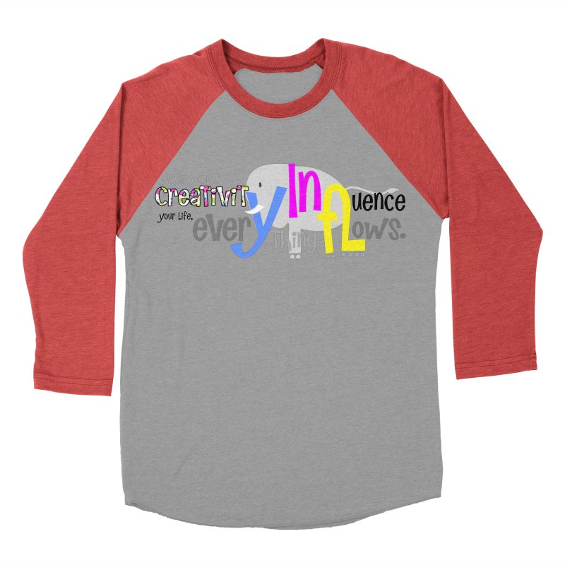 Creativity Men's Baseball Triblend T-Shirt by PickaCS's Artist Shop