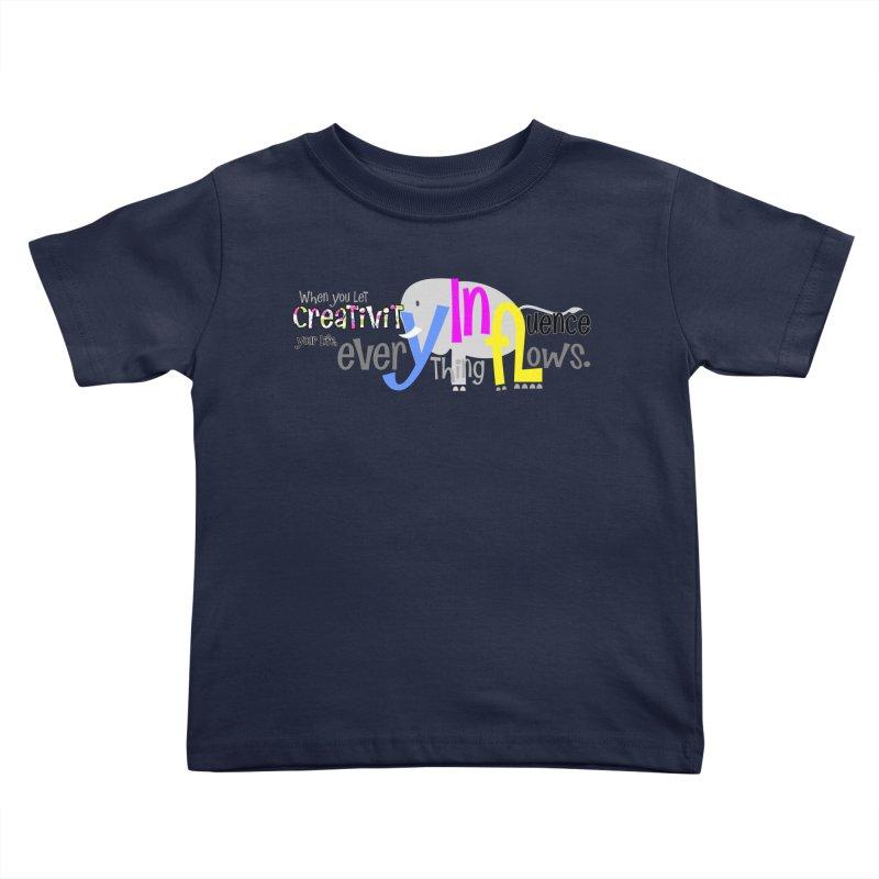 Creativity Kids Toddler T-Shirt by PickaCS's Artist Shop