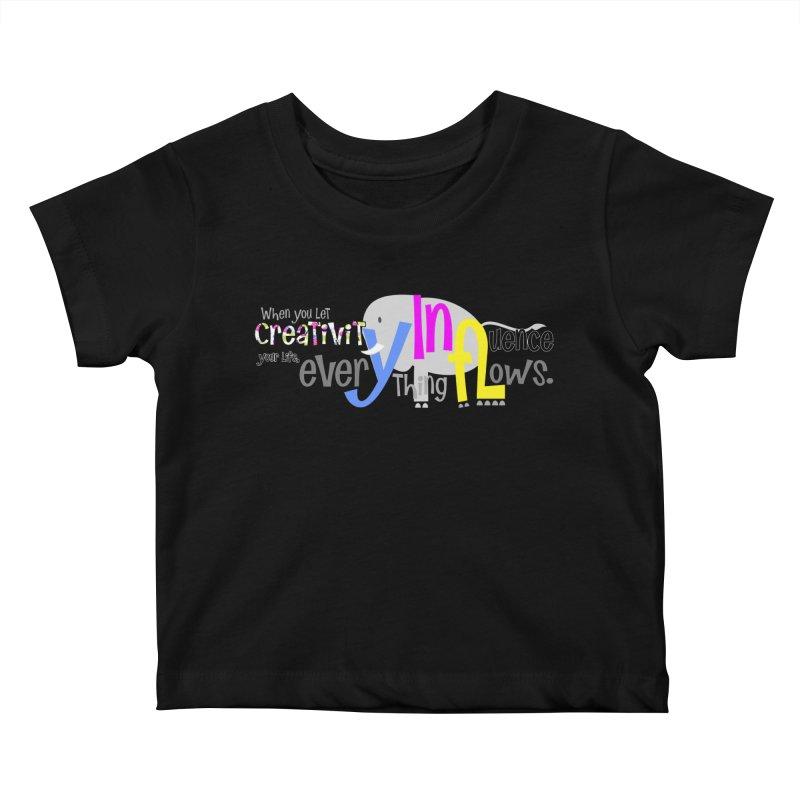 Creativity Kids Baby T-Shirt by PickaCS's Artist Shop