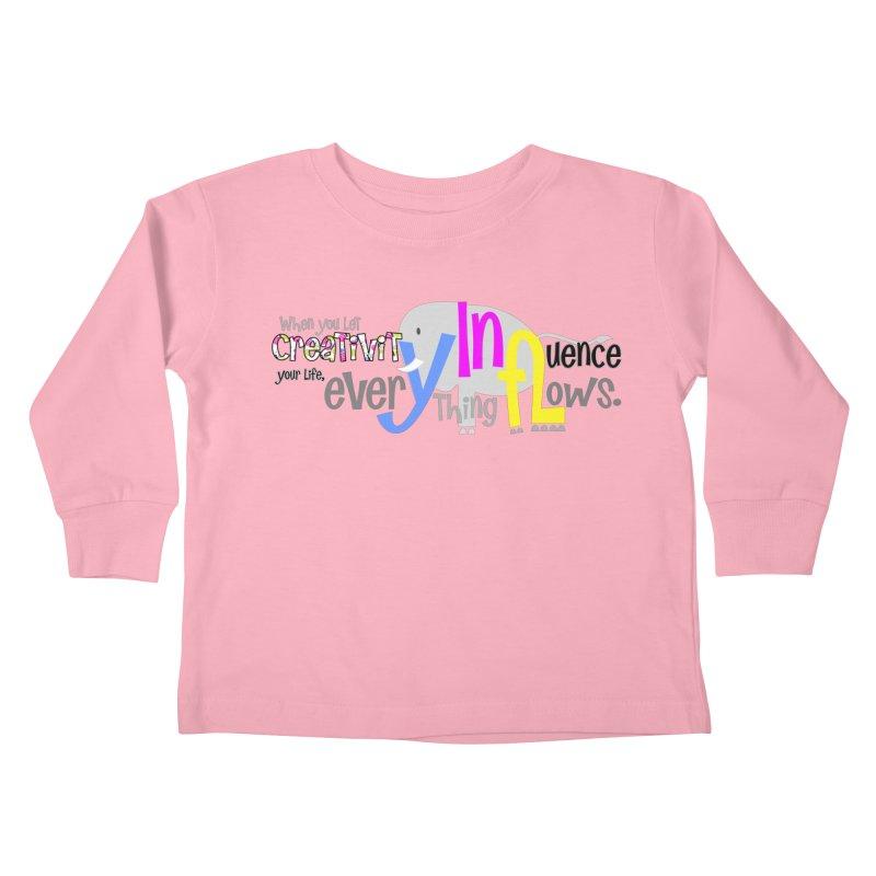 Creativity Kids Toddler Longsleeve T-Shirt by PickaCS's Artist Shop