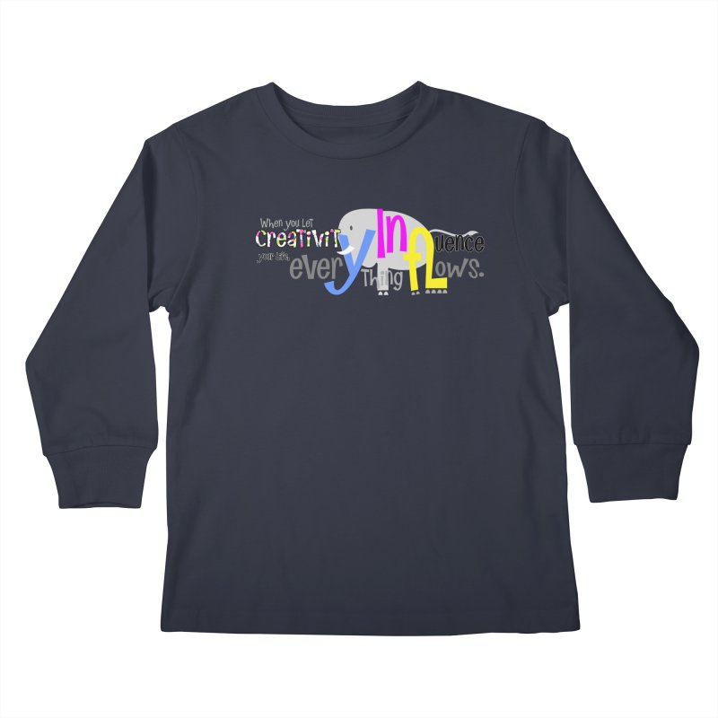 Creativity Kids Longsleeve T-Shirt by PickaCS's Artist Shop