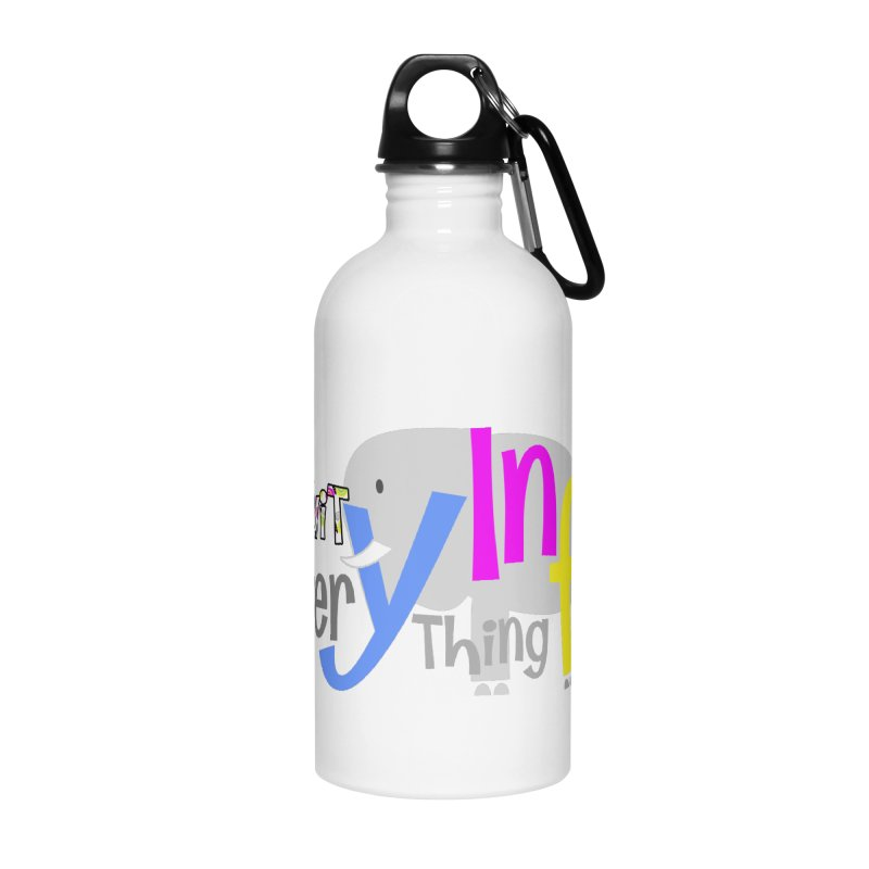 Creativity Accessories Water Bottle by PickaCS's Artist Shop