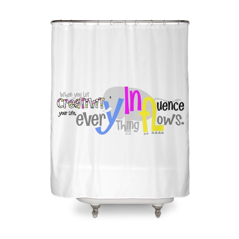Creativity Home Shower Curtain by PickaCS's Artist Shop