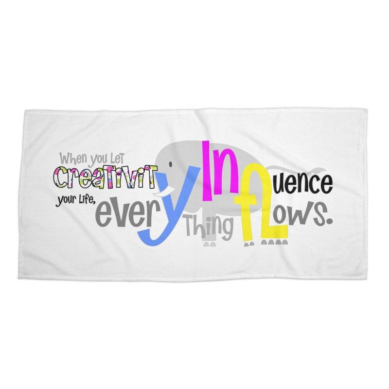 Creativity Accessories Beach Towel by PickaCS's Artist Shop