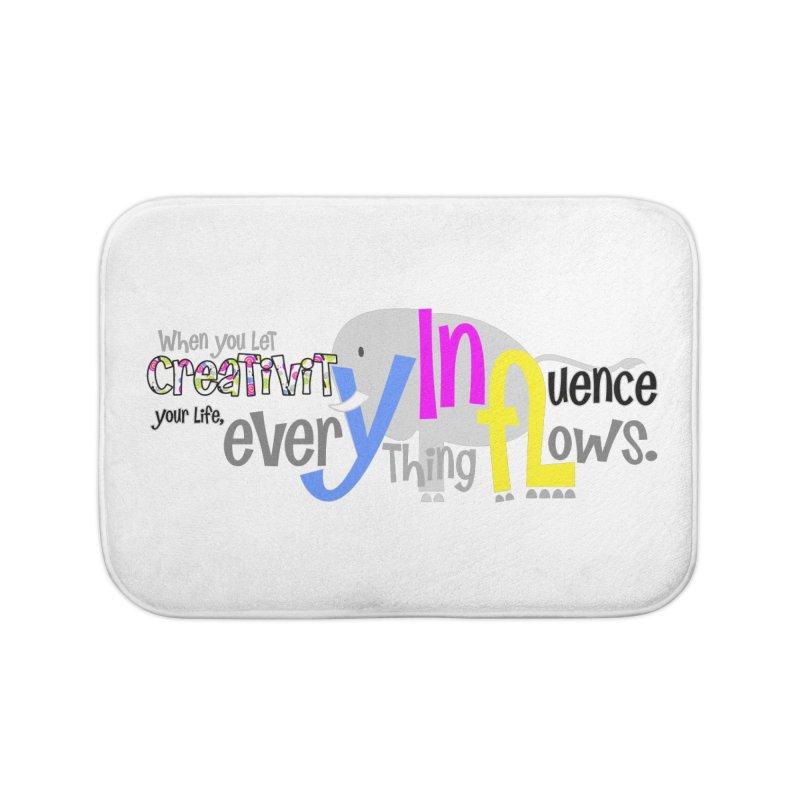 Creativity Home Bath Mat by PickaCS's Artist Shop