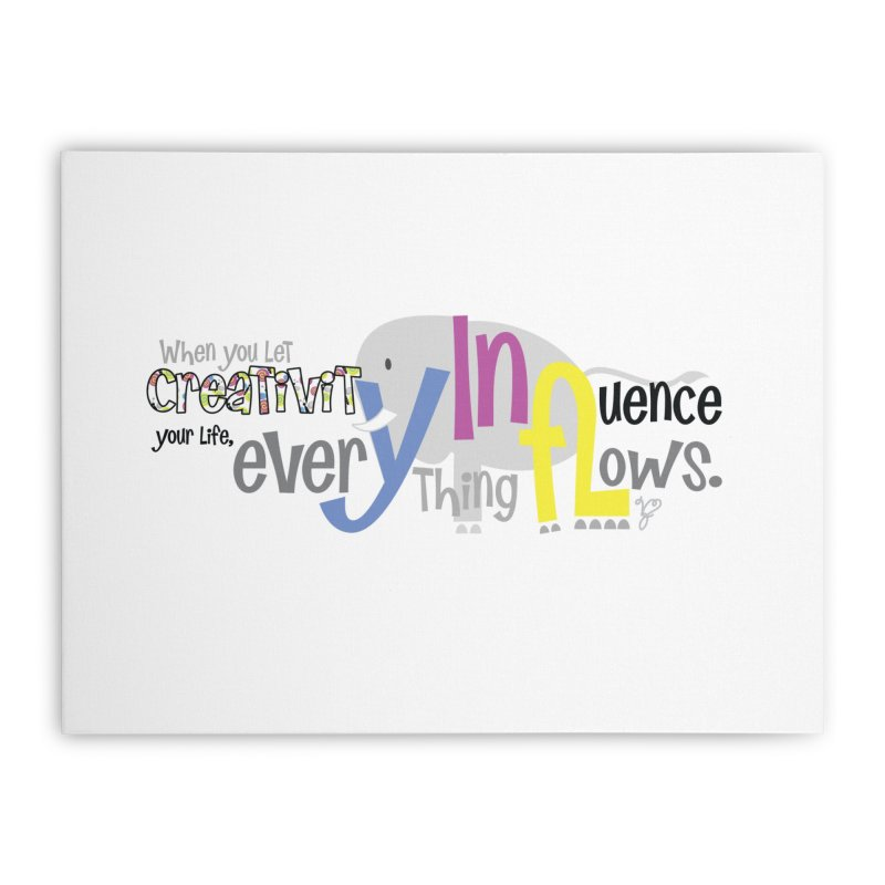 Creativity Home Stretched Canvas by PickaCS's Artist Shop