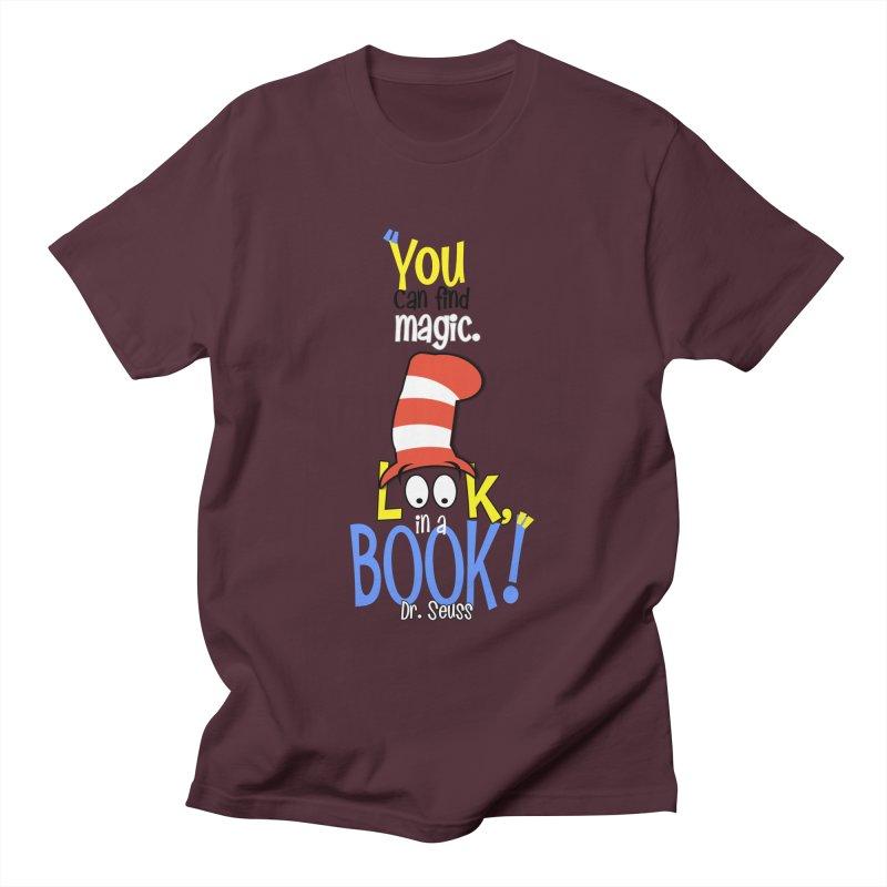 Look in a BOOK Men's T-Shirt by PickaCS's Artist Shop