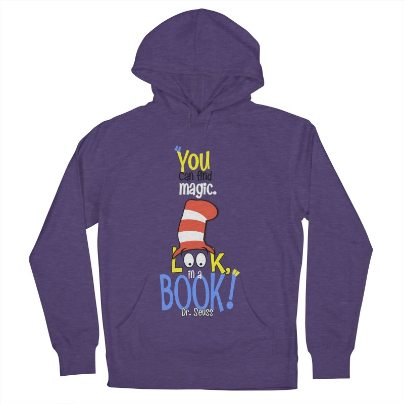 Look in a BOOK Men's Pullover Hoody by PickaCS's Artist Shop