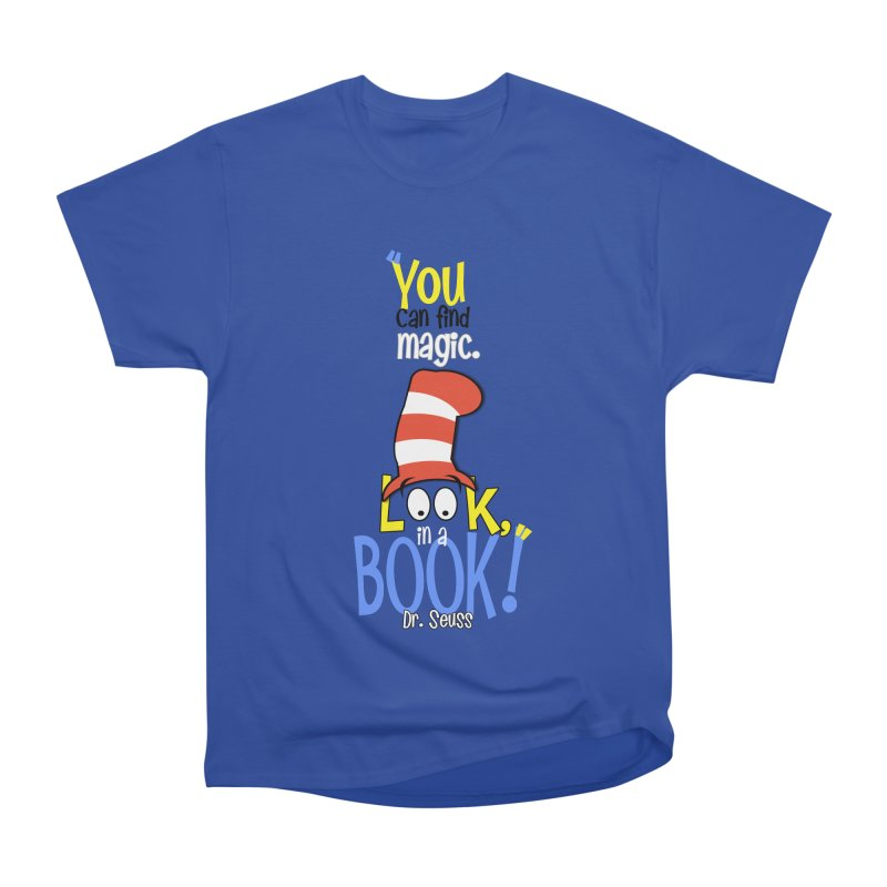 Look in a BOOK Women's Heavyweight Unisex T-Shirt by PickaCS's Artist Shop
