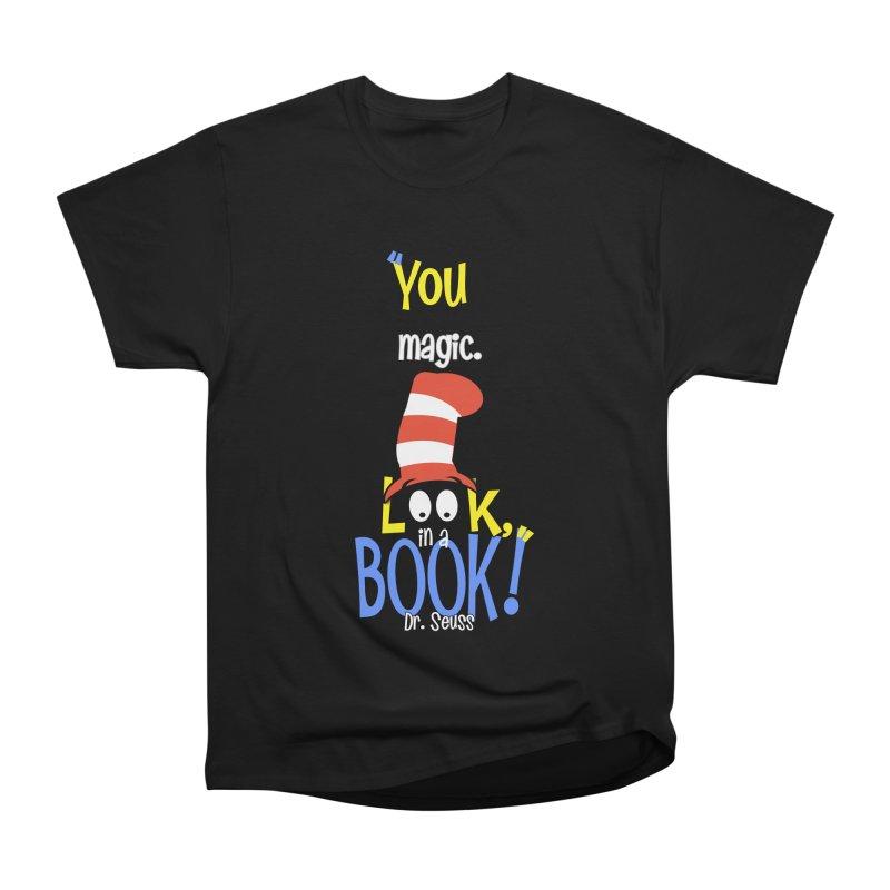 Look in a BOOK Men's Classic T-Shirt by PickaCS's Artist Shop