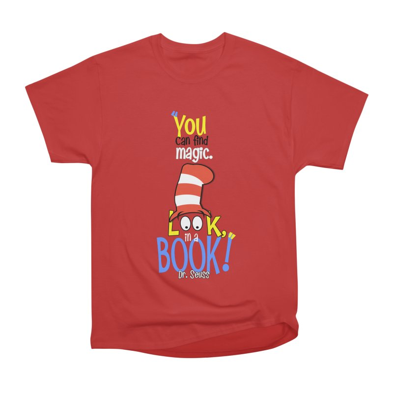Look in a BOOK Women's Classic Unisex T-Shirt by PickaCS's Artist Shop