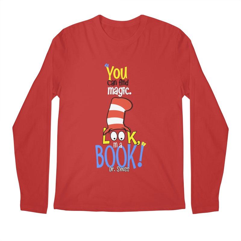Look in a BOOK Men's Longsleeve T-Shirt by PickaCS's Artist Shop