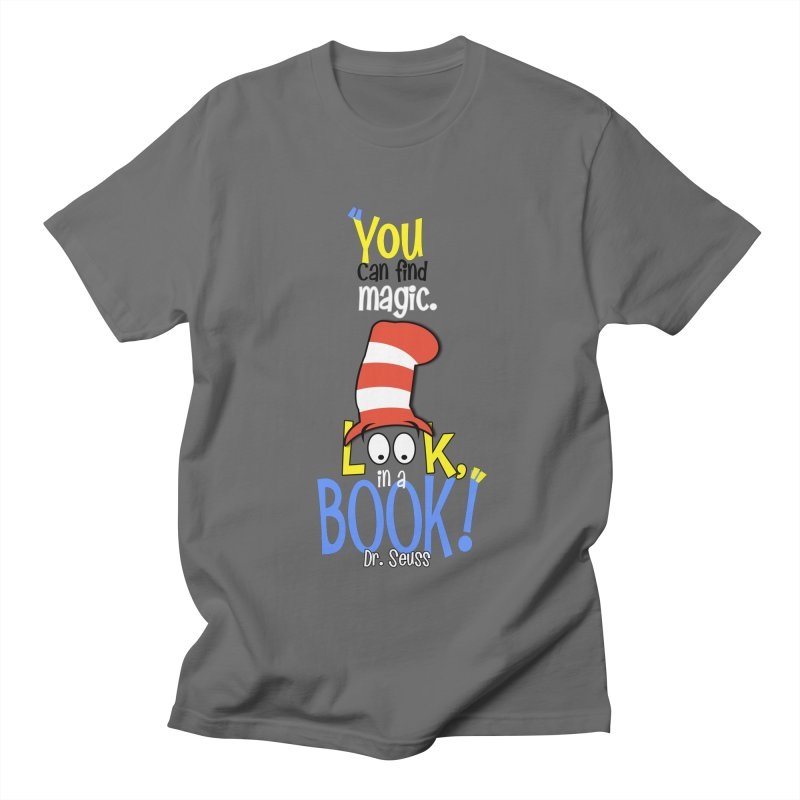 Look in a BOOK Men's T-Shirt by PickaCS's Artist Shop