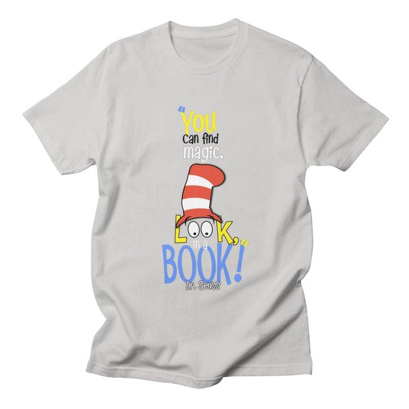 Look in a BOOK Women's Unisex T-Shirt by PickaCS's Artist Shop