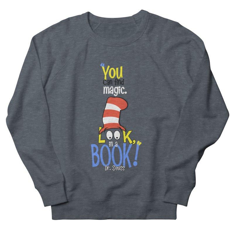 Look in a BOOK Women's French Terry Sweatshirt by PickaCS's Artist Shop