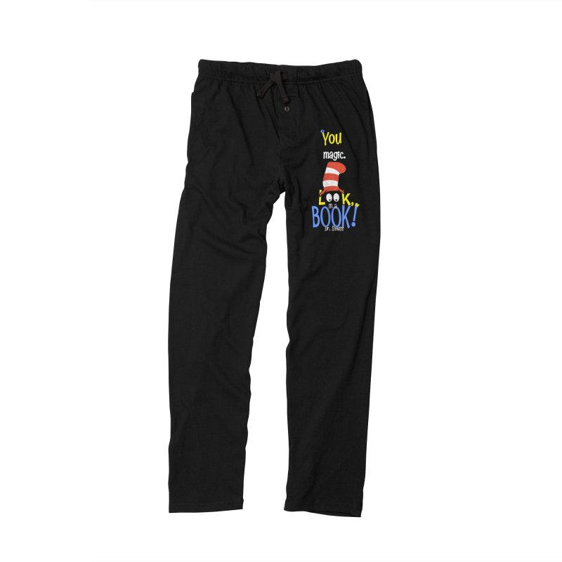 Look in a BOOK Men's Lounge Pants by PickaCS's Artist Shop