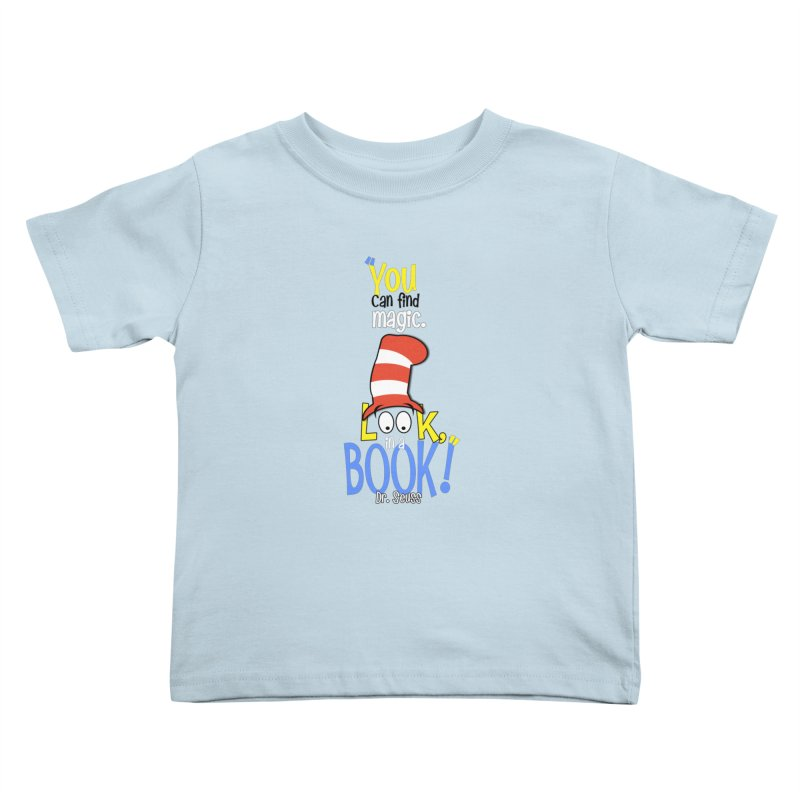 Look in a BOOK Kids Toddler T-Shirt by PickaCS's Artist Shop