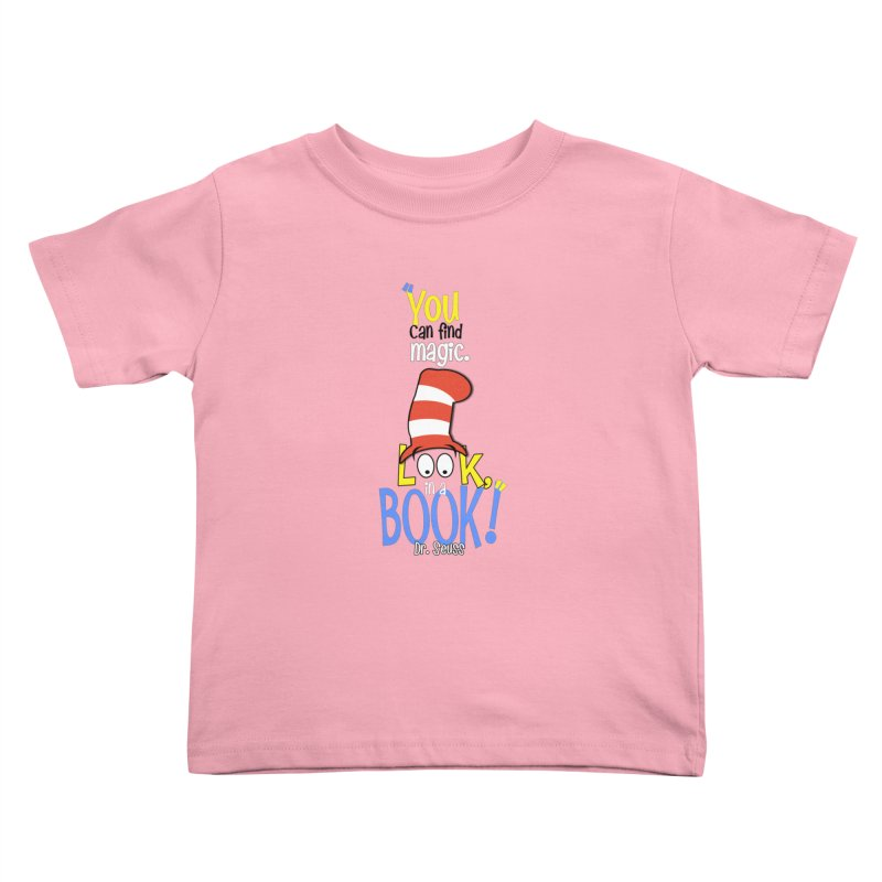 Look in a BOOK Kids Toddler T-Shirt by PickaCS's Artist Shop
