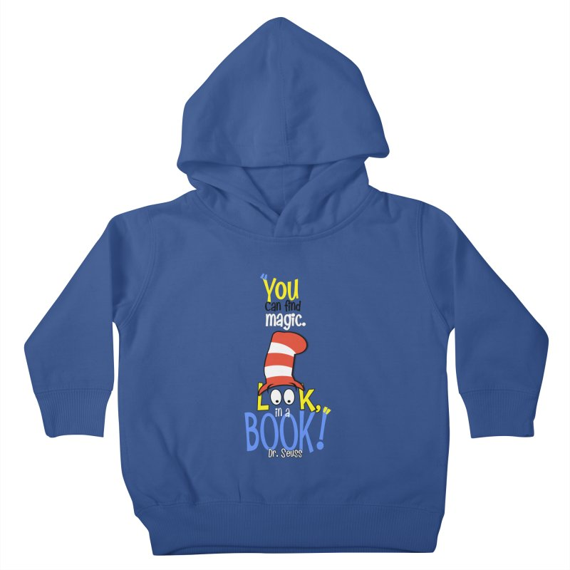 Look in a BOOK Kids Toddler Pullover Hoody by PickaCS's Artist Shop