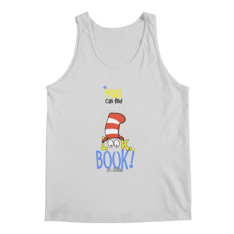 Look in a BOOK Men's Tank by PickaCS's Artist Shop